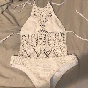 Crochet bathing suit
